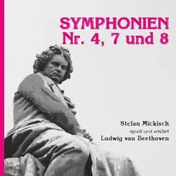 Ludwig van Beethoven – Symphonien Nr. 4, 7 und 8 – 2 CDs