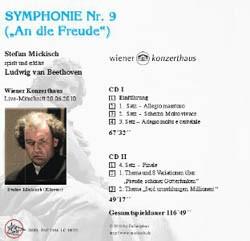 Ludwig van Beethoven – Symphonie Nr. 9 – 2 CDs